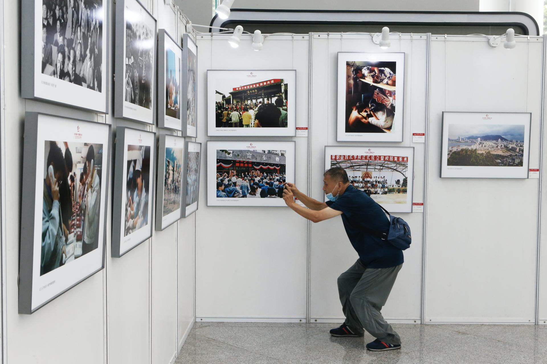 120幅照片致敬最美奋斗者!南山区庆祝深圳经济特区建立40周年摄影展开展