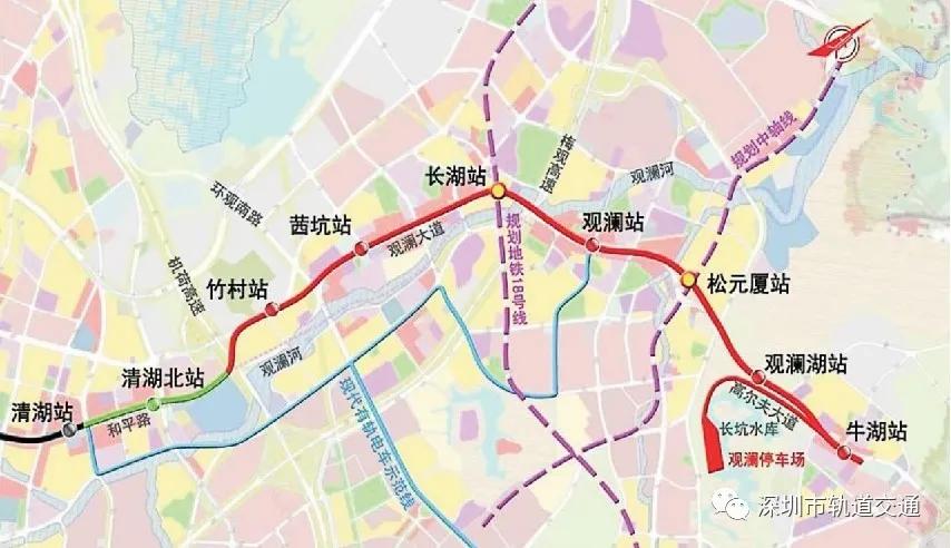 深圳地铁4号线北延线通过单位工程验收 正式进入