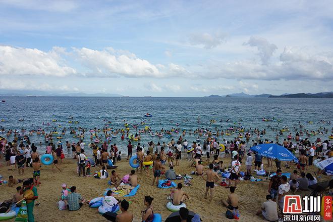 """IN视频 端午""""小长假""""首日盐田各景区接待游客超3万人次"""