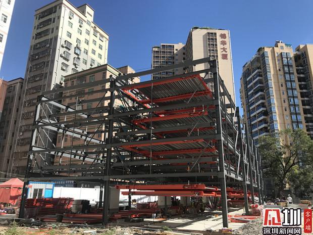 深圳出台方案鼓励城中村建立体停车场 社会资本建停车位补贴8千