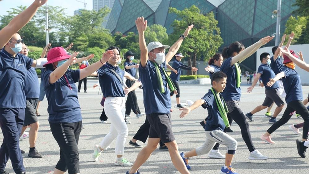 "IN视频 |""全民健身日""市民动起来!龙岗掀起运动健身热潮"