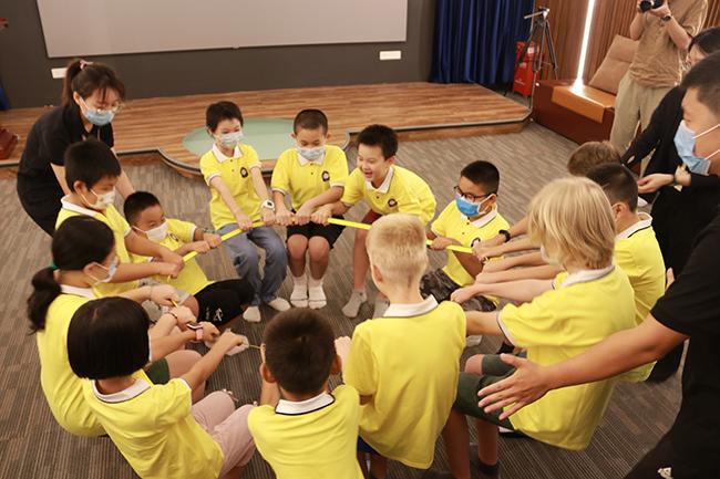 中外儿童快乐燃爆夏日 招商街道第二届儿童趣味国际夏令营开营