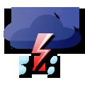 雷阵雨频密,暴雨黄色和雷电预警信号生效中,出行勿忘带伞