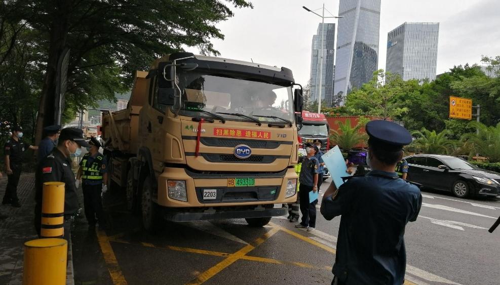 深圳开展货运行业乱象专项整治行动 重拳整治货运行业超限运输违法行为