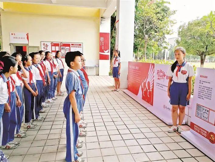 传承红色基因,燕山学校党史学习教育进校园风采撷英