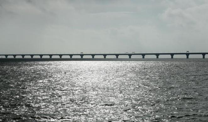 """""""山竹""""过境 港珠澳大桥第三次经受强台风检验"""