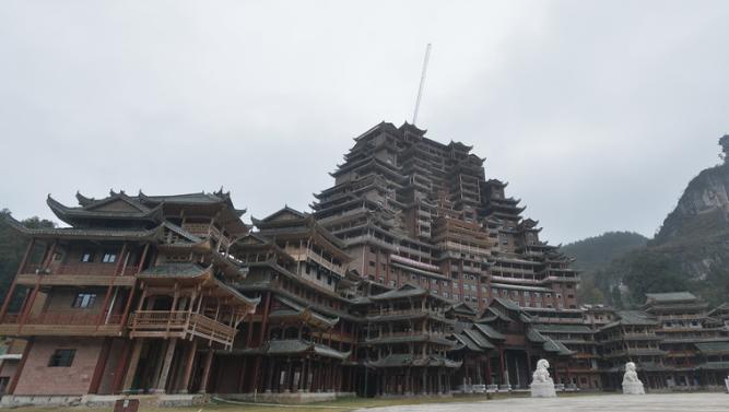 """世界最高大最大最壮观的水族建筑即将完工  被称为""""天下第一水司楼"""""""
