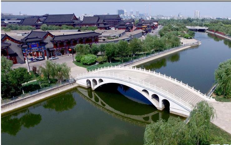 走进千年古镇杨柳青 运河穿城而过
