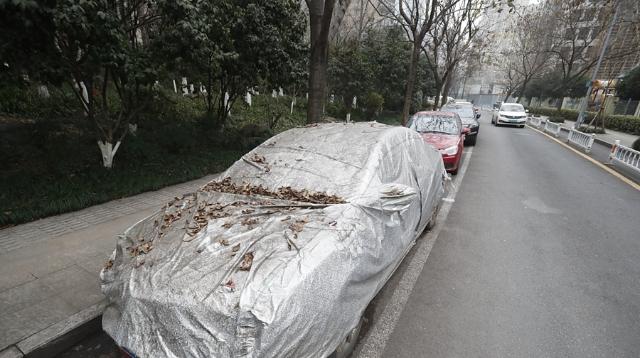 """马路成""""僵尸车""""天堂 杭州一路段免费车位惹吐槽"""