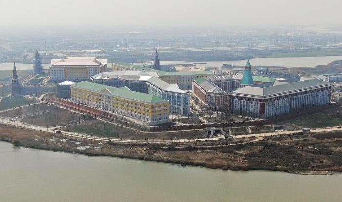 实拍华为即将启用新企业业务总部 占地43万平方米