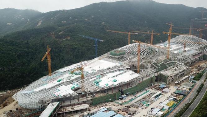 珠海长隆海洋科学馆将于年内建成
