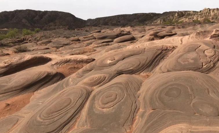 一亿五千万年的沉淀!中国最美线条峡谷