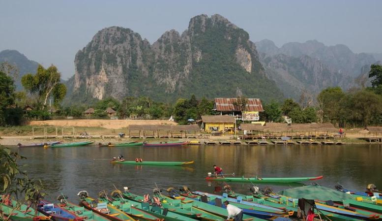 像极了桂林!这里被称为东南亚最后一块世外桃源