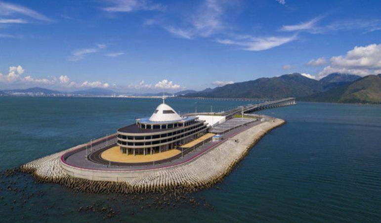 港珠澳大桥将启动东人工岛旅游开发 360度全景看岛