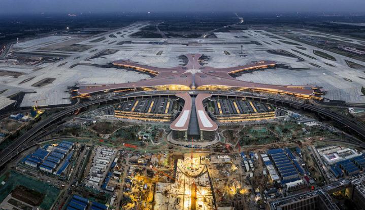 北京大兴机场投用在即 一波美图盘点先睹为快