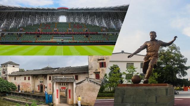 """组图:深网记者带你探访""""足球之乡""""——梅州"""
