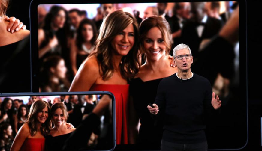 2019年蘋果秋季新品凌晨發布,粉絲熬夜圍觀,庫克現場秀自拍