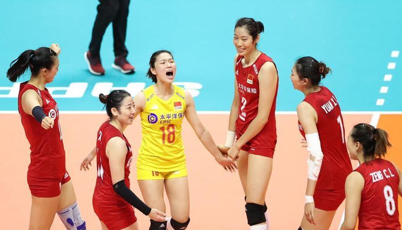 女排世界杯:中国队3比2战胜巴西队
