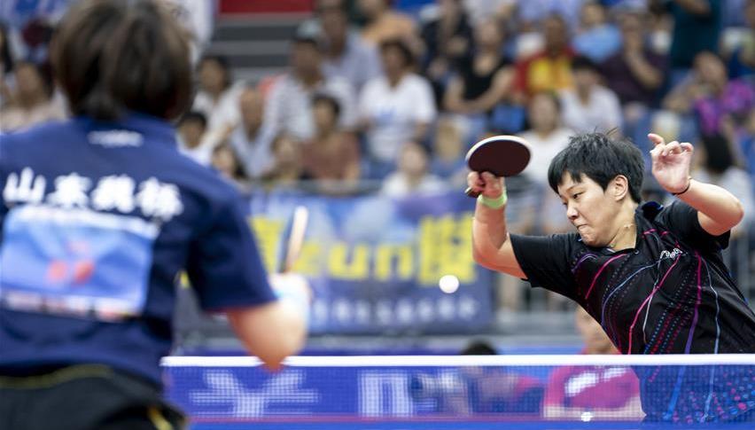 努力,不负国球荣光——八一乒乓球队积极备战世界军运会