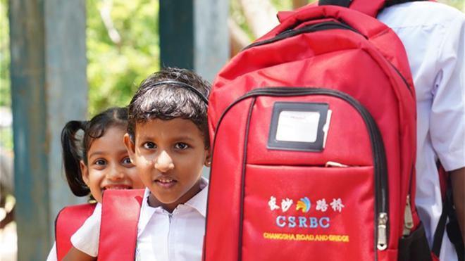 中国企业助力斯里兰卡学校提升教育梦想