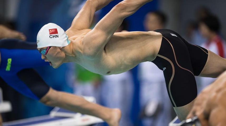【军运会】水上救生——男子200米超级救生:牛钰捷夺冠