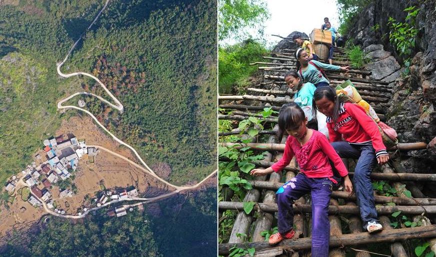瑶山蹲点影像日记——天梯悬崖变通途