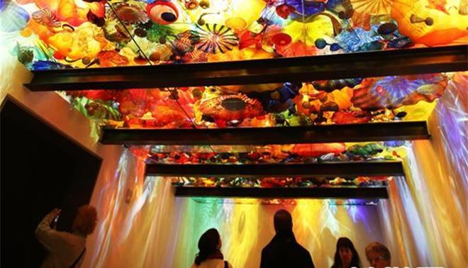 西雅图:色彩斑斓的玻璃世界