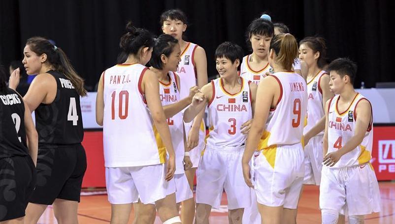 女篮东京奥运会资格赛:中国胜新西兰