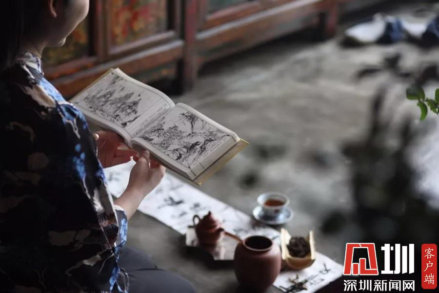 """深圳市民与文化名人""""零距离""""接触 杨争光""""漫谈""""《水浒传》"""