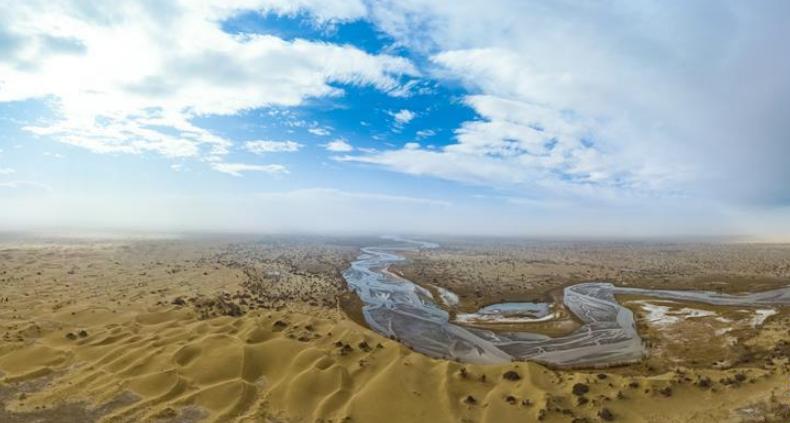 探秘新疆大漠深处的克里雅河
