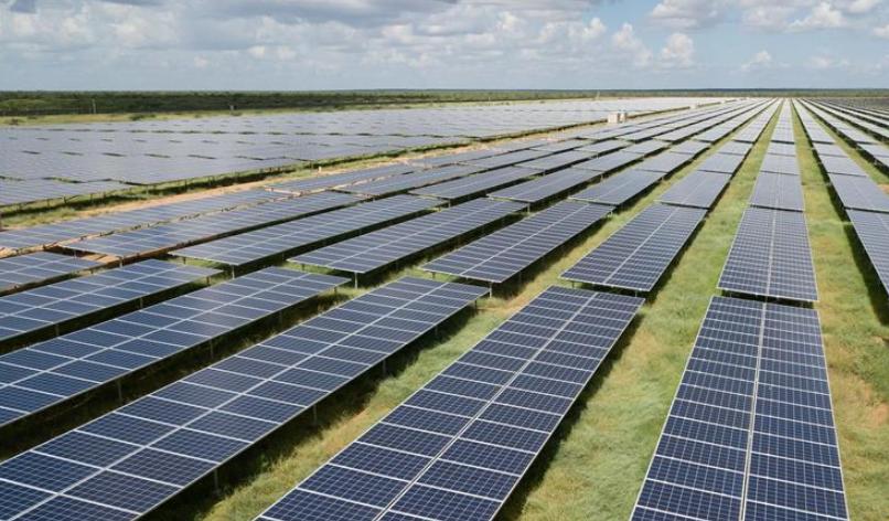 中企承建东非最大光伏电站正式投运