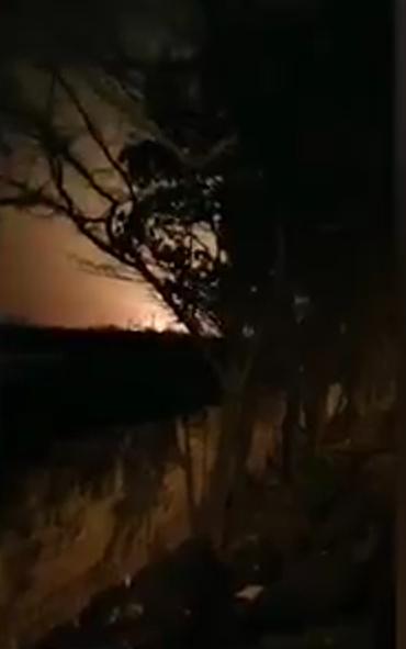 乌克兰一架客机在伊朗坠毁 现场画面曝光