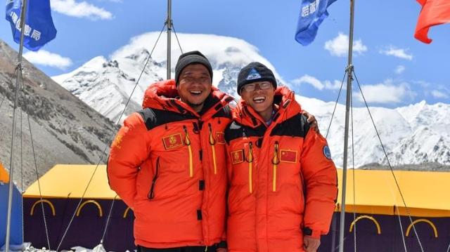 来自珠峰大本营的微笑