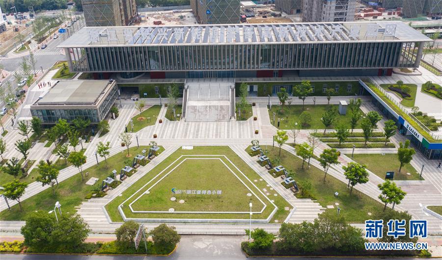"""浙江长兴:新能源小镇""""城市客厅""""引领城市低"""