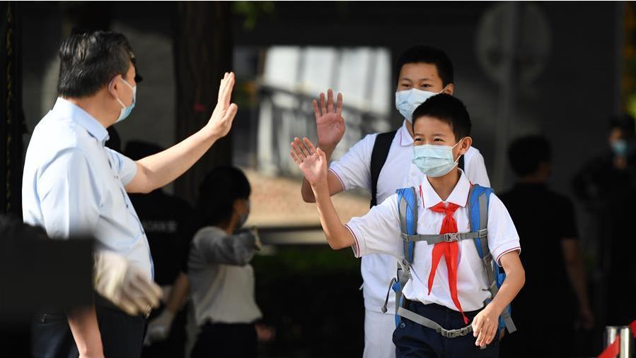 北京:40多万名中小学生返校