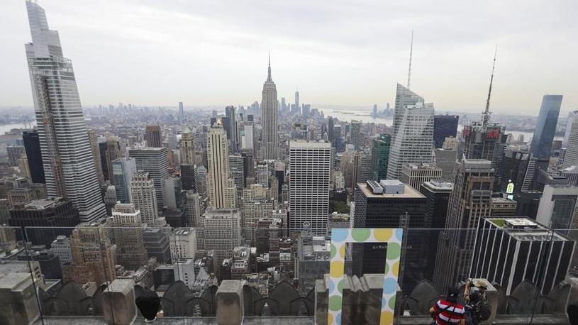纽约洛克菲勒中心观景台恢复开放