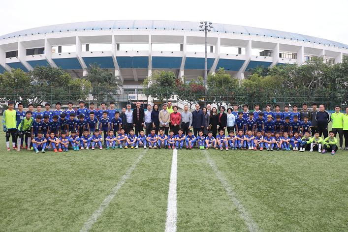 深圳市领导探望备战运动健儿 新周期携手夺佳绩