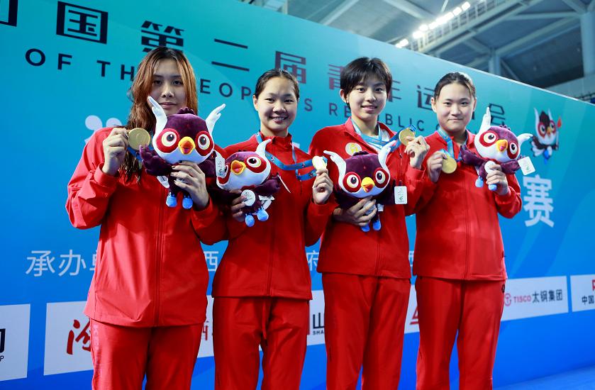 必威体育妹子助力  广东代表团游泳首金诞生