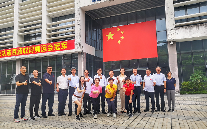 深圳市文化广电旅游体育局局长曾相莱一行前往深圳市体工大队调研