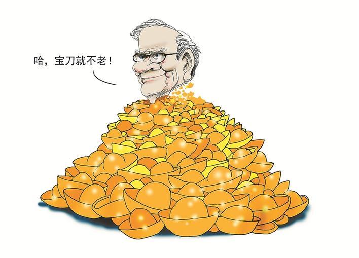 重仓苹果 巴菲特日赚20亿 股神尚能饭否