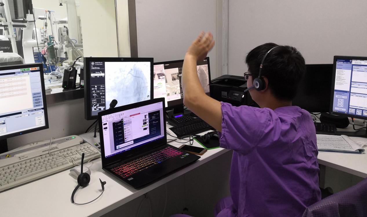 深圳联通5G网络赋能远程医疗示教 带动华南介入