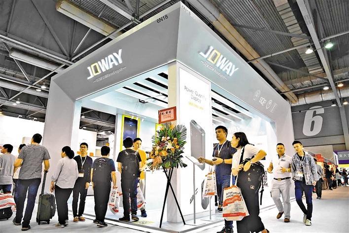 """乔威多款产品在香港环球资源电子展""""吸眼球"""""""