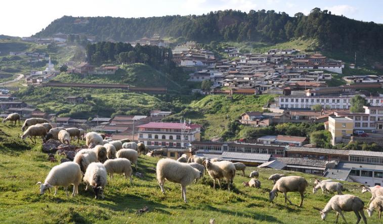 西方游客为何青睐这座甘川两省共管的偏远小镇