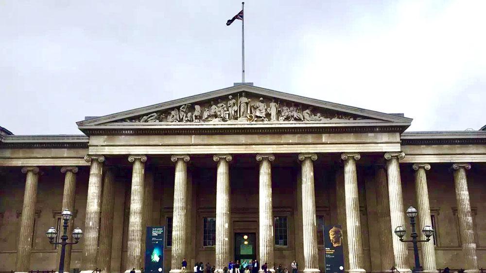 奇观天下|世界上规模最宏伟的博物馆 古罗马柱式建筑壮观