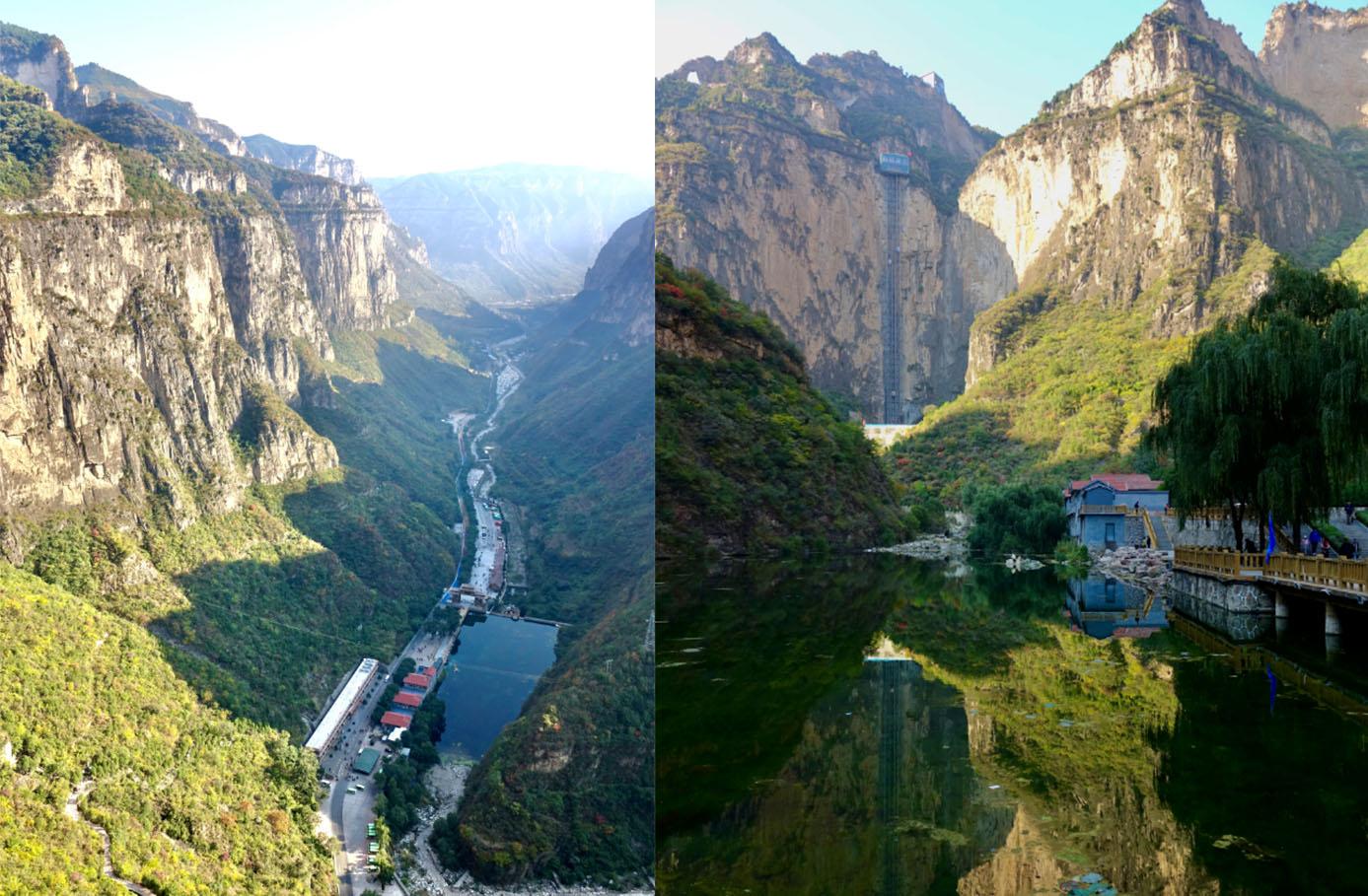 奇观天下|雄奇壮美,设施齐全:这个大峡谷是太行山景观的龙头