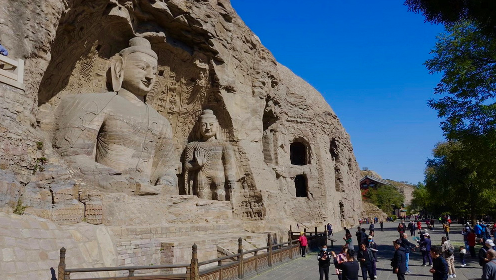 奇观天下|走进中国规模最大的石窟 1500年前依山开凿