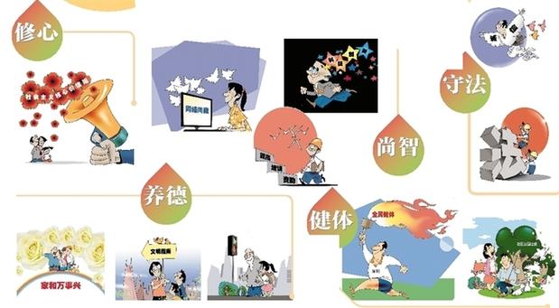 图说深圳市民文明素养提升行动纲要