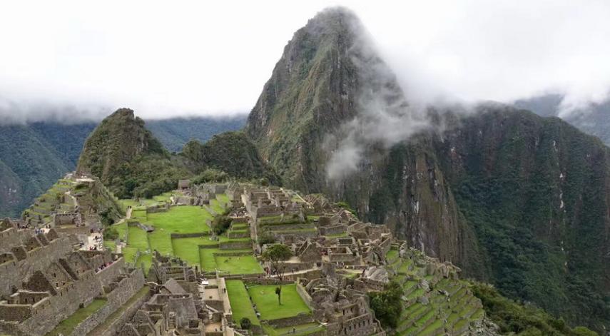 """建在悬崖峭壁上的古城 被称为""""失落之城"""""""