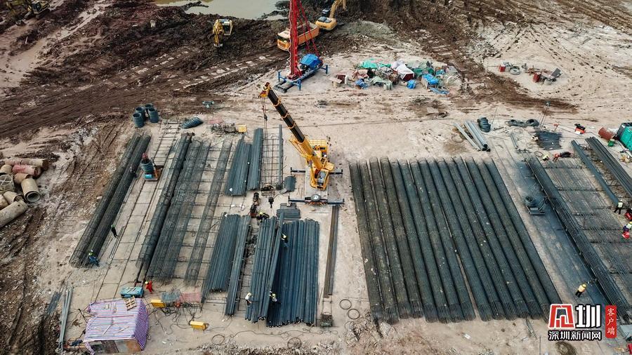 恒大新球场正在施工 预计2022年底前竣工