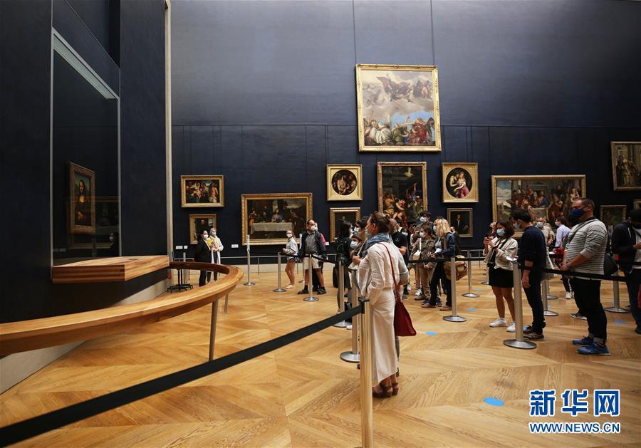 法国卢浮宫重新开门迎客